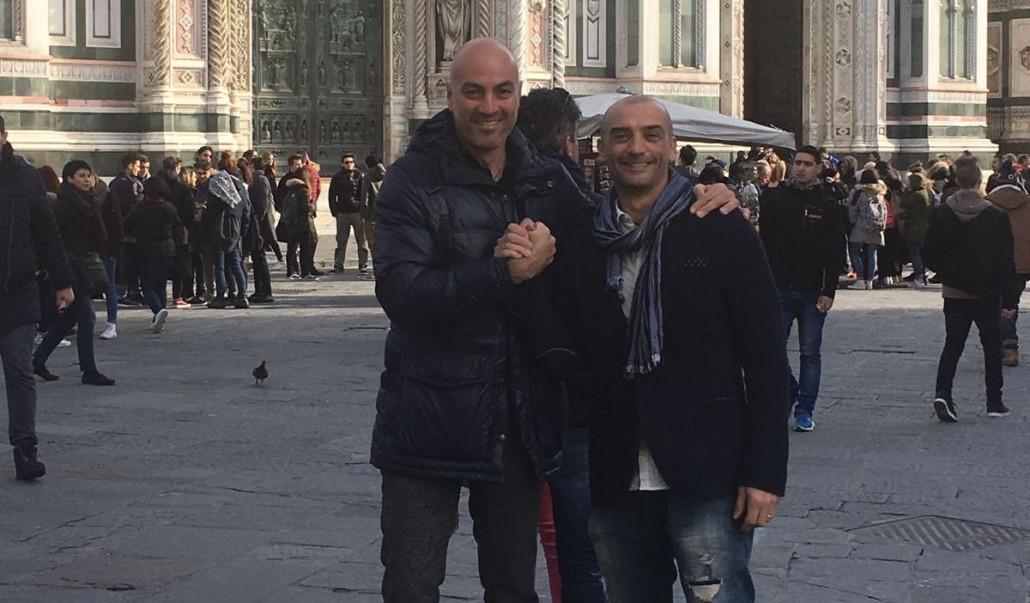 Massimo Bardi (a destra) e Claudio Terenzi organizzatori delle due manifestazioni che costituiscono la Combinata